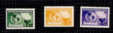 Dominican Republic 1938 Us Constitution Stamp 332-34 Shipping Free after 1st Lot