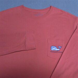 VINEYARD VINES COTTON LONG SLEEVE SHIRT--XL--WHALE---FANTASTIC COLOR!--SPOTLESS!