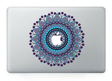"MacBook 11""/13""/15"" Blue Mandala Apple Decal Sticker (pre-2016 Pro/Air only)"