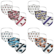 NFL 3 Pack Officially Licensed Face Coverings Various Teams