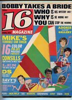 16 Magazine August 1969 Cowsills Monkees Jack Wild Raiders Desi Stef  MBX78