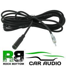 Antena de coche de radio estéreo de 3 metros Antena adaptador de cable de extensión de AAN2006