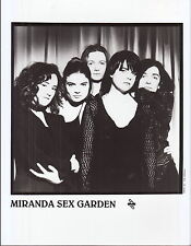 miranda sex garden limited edition press kit