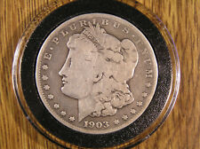 1903-S Circulated * Key Date * Silver MORGAN DOLLAR * AirTite Holder