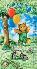 TIMELESS TREASURES HEIGHT CHART  CORDUROY  PANEL    Cotton Fabric   ONLY 5.90