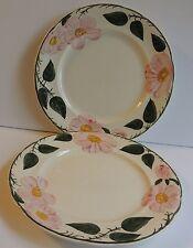 "Estate 2 Villeroy & Boch Wild Rose Salad Plates 8 1/4"""
