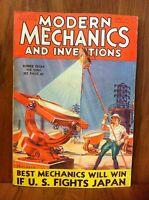 MODERN MECHANICS MAGAZINE MAY 1932 BEST MECHANICS WILL WIN IF US FIGHTS JAPAN