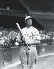 1930's Jimmie Foxx With Bat Conlon Photo Produced From Original Negative