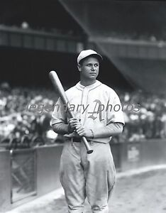 1930's Jimmie Foxx With Bat Conlon Photo Produced From Original Negative