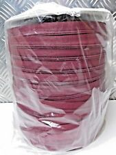 200m Burgundy Red Continuous zip  No 3  Cushions Upholstery Zipping