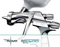 Spray gun Anest Iwata WS400 CLEAR Pininfarina 1.2 mm for painting sprygun Silver