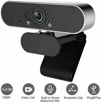 HD 1080P Web Camera USB Webcam with Microphone For Video Skype Laptop Desktop