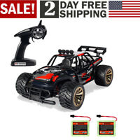 1:16 RC Car Off Road High Speed Racing Monster Truck With 2 Rechargeable Battery