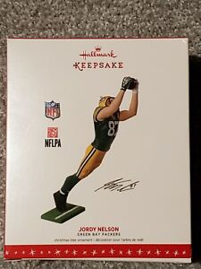 NEW 2016 Hallmark Ornament - Jordy Nelson - Green Bay Packers - NFL Football