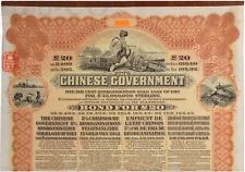 Reorganisation Gold Bond's, ₤20, 1913 - w/PASS-CO / NOT SUPER PETCHILI - FARMER