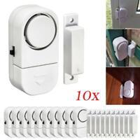 10Pcs Wireless Home Window Door Burglar Security Alarm System Magnetic Sensor UK