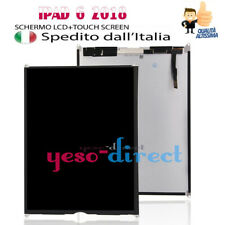 SCREEN DISPLAY LCD PER APPLE iPad 6 2018 A1893 A1954 SCHERMO VETRO NERO