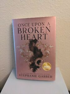 Once Upon a Broken Heart- Stephanie Garber~ SIGNED B&N Exclusive Book