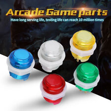 5Pcs/set LED Illuminated Start Push Button with Microswitch for Arcade Game SG
