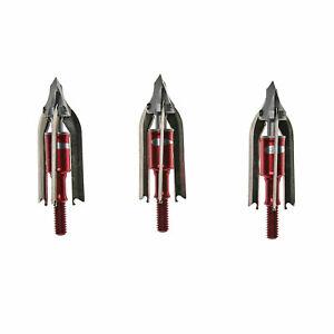 TROPHY RIDGE Meat Seeker 2 Blade Jagdspitzen - 100 Grain - 3er Pack