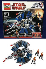 New STAR WARS Lego 8086 - DROID TRI-FIGHTER - 3 Rocket Droid Minifigures 268 Pc