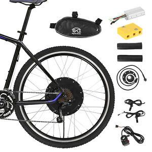 """48V1500W PAS Rear Electric Bicycle E-Bike Wheel Conversion Kit 26"""""""