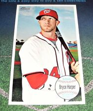 2013 TOPPS HERITAGE 1964 OVERSIZED GIANTS BRYCE HARPER CARD SP BOX TOPPER SUPER