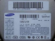 20 GB Samsung SV0221H / S/N:0511J1ET816690  V60L20 / VERNA Rev07 hard drive