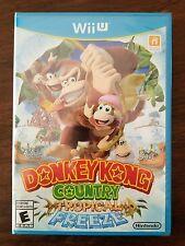 Donkey Kong Country: Tropical Freeze. Nintendo Wii U. Brand New. 1st Print. BLUE