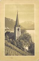 BR36724 Eglise de Montreux et la dent du Midi      Switzerland