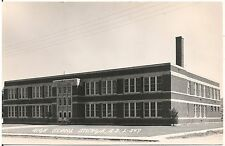 High School in Sturgis SD RP Postcard