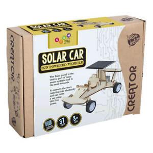 NEW Wooden Solar Car Creator | FREE Shipping