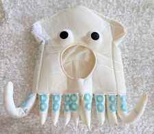 Octopus Squid Hat Costume Halloween Ocean Animal Theme Head Stained Dark Marks