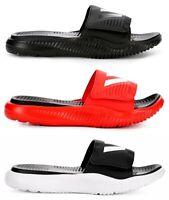 Adidas Alphabounce Men's Adjustable Slides Sandals House Shoes