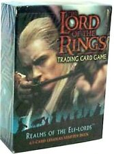 LOTR TCG ROTEL Realms of the Elf-Lords Legolas Starter Deck Box SEALED