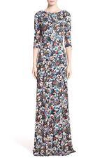 NWT Erdem Valentina Floral Jersey Dress Gown 8 US  $1395