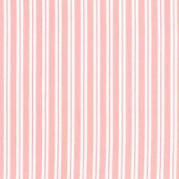 "SOFT COTTON CLOTH DRESS DUVET BEDSPREAD FABRIC PAJAMA STRIPE WHITE BABY PINK 44"""