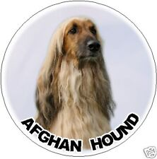 2 Afghan Hound Dog Car Stickers By Starprint - Automatically combines Postage