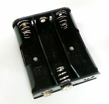 1pc of (3) Aa 3-Aa Battery Holder socket with 9V Connector Bh331 + Usa Free Ship