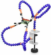 Soldering Helping Hand Third Hand Tool 4 Flexible Arms Table Clamp PCB Holder