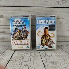 Ice Age and valiant [UMD Mini for PSP], , Used; Good UMD, kids film cartoon