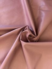 Mauve Pink Stretch Faux / Fake Soft Leather / Vinyl / PU by the Yard