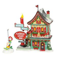 Dept 56 2018 North Pole, Welcoming Christmas #6002292 Nrfb Candle Light Inn *