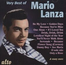 [BRAND NEW] CD: THE VERY BEST OF MARIO LANZA