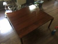RARE LARGE Knoll Mid Century Modern Coffee Table By Lewis Butler