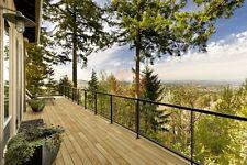 Terrassenholz Terrassendielen Lärche sibirisch MUSTER 25mm x 145mm Profil glatt