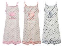 Cotton Nightdresses Shirts Spotted Women's Lingerie & Nightwear