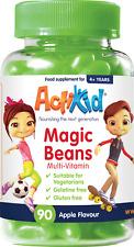 ActiKid® Magic Beans Multivitamin Apple Flavour, 12 Vitamins And Minerals, 90s