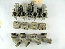 Mikuni Kogyo Carburetors VM Kawasaki KZ650 KZ 650 Intake, near complete, extras