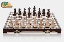 OLYMPIC - 35cm / 14in Handcrafted Wooden Chess Set